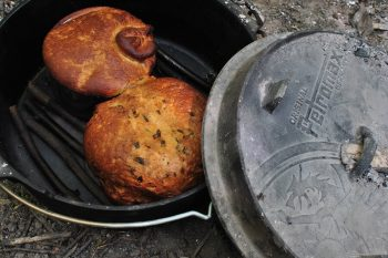 Bread baked in Petromax Dutch oven