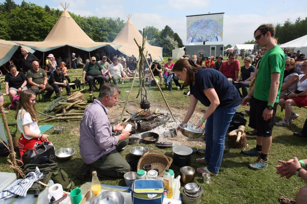 Bread baking workshops at The Bushcraft Show