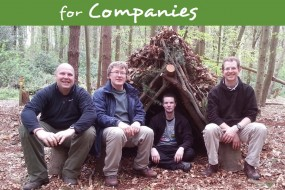 Outdoor events for companies, team building challenges, courses and training for groups