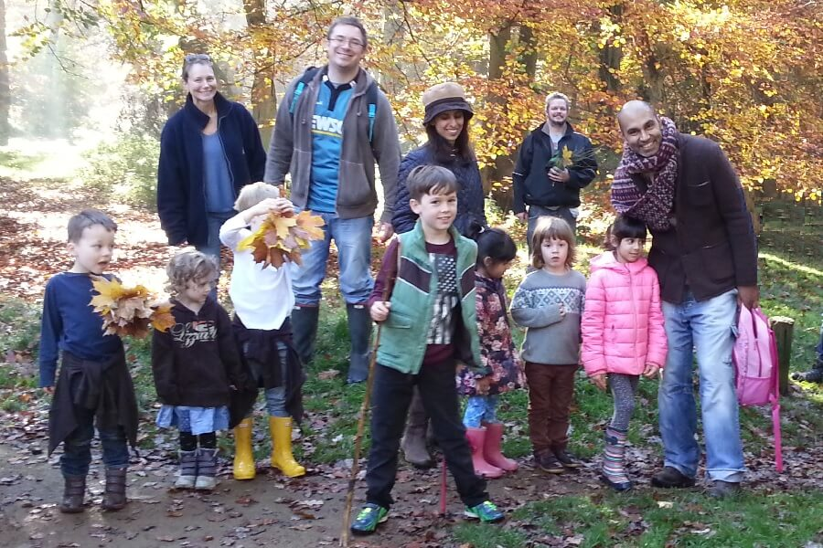 Family friendly guided woodland walk in the Chilterns