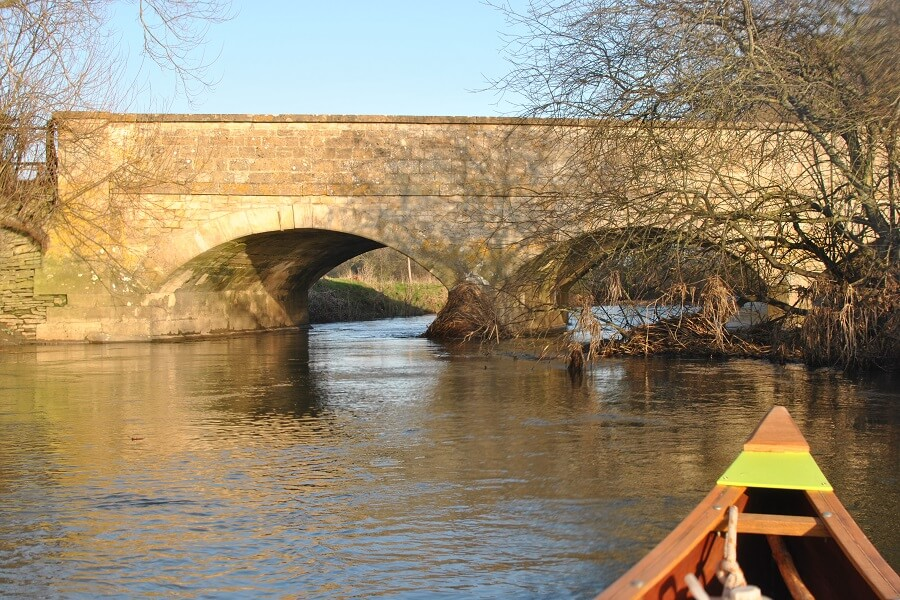One of many lovely bridges on the Northern reaches of the River Thames