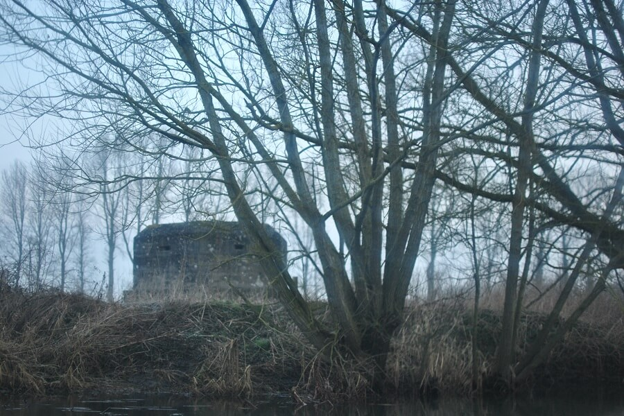 Pillboxes along the Northern banks of the Thames - a poignant reminder of fortress Britain during WW2