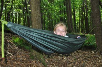 Family Bushcraft - hammock time