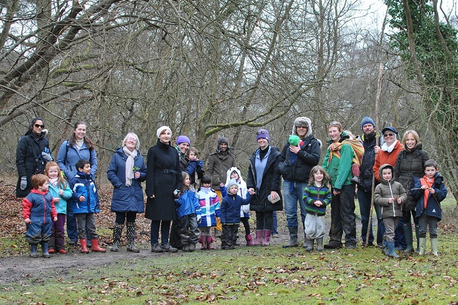 Join a family friendly, guided woodland walk