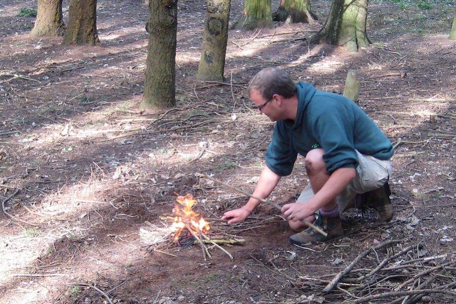 Fire lighting practice