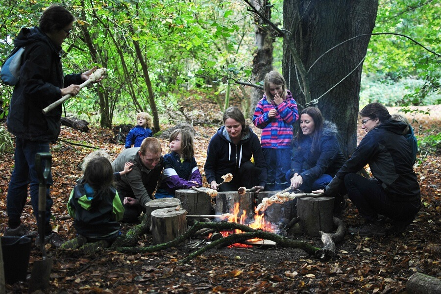 Home-Ed Bushcraft at Shortnills