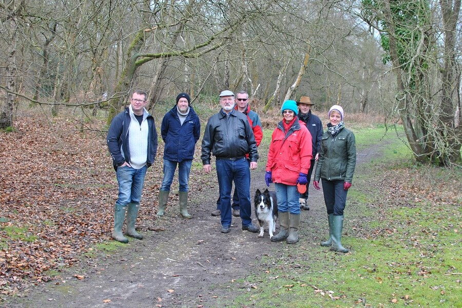 The inaugural netwalking event - February 2016