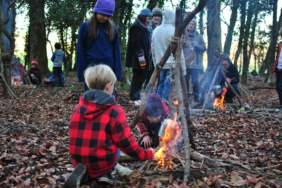 Family Bushcraft in the Chilterns