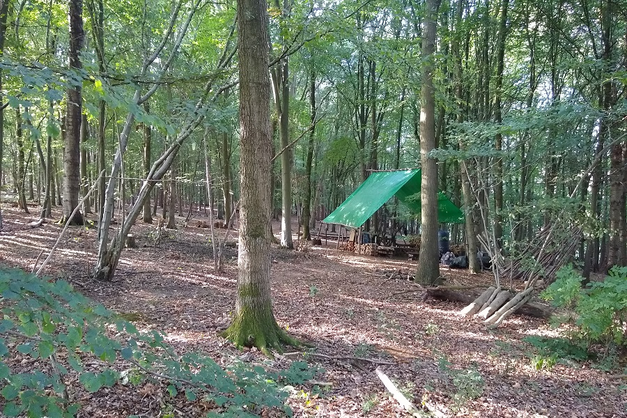 Chilterns Woodland Camp