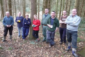 Youth leaders on Bushcraft course